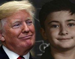 Donald Trump chciał uczynić z tego chłopca twarz swojej kampanii społecznej. Zobaczcie, jaki NUMER wywinął dzieciak prezydentowi!