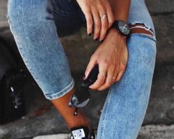 Marmurkowy jeans - jak nosić denim w sezonie wiosna-lato 2019?