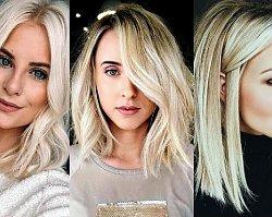 18 pomysłów na półdługą fryzurę dla blondynek - galeria trendów