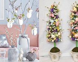 Dekoracje wielkanocne DIY - pomysły na stroiki, drzewka i ozdoby w szkle