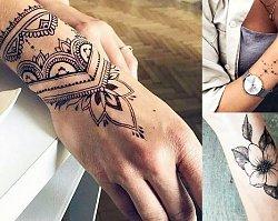 Tatuaż na nadgarstek - 25 prześlicznych wzorów dla dziewczyn