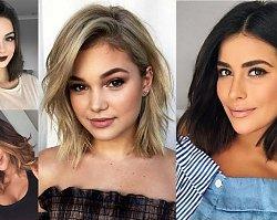 Galeria pomysłów na fryzurę o długości do ramion - trendy 2019