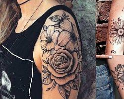 27 ślicznych propozycji na tatuaż dla kobiet - galeria najnowszych trendów