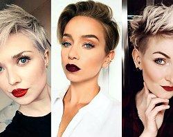 Krótkie fryzury - galeria przepięknych i stylowych cięć dla kobiet