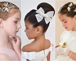 Fryzury komunijne 2019 - fryzury dla dziewczynek na Pierwszą Komunię Świętą