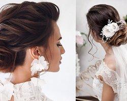 Fryzury ślubne 2019. Nowe, modne fryzury ślubne z welonem, wiankiem, w stylu boho