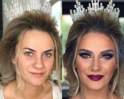 Te zdjęcia pokazują jak DOBRZE dobrany makijaż potrafi zdziałać cuda