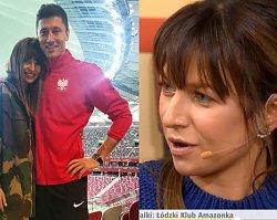 """Anna Lewandowska jąka się w pierwszym odcinku swojego programu w """"DD TVN"""". Wtedy padł żart, który uratował sytuację"""