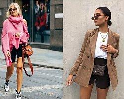 Cycling shorts - dziwny trend czy sposób na modną stylizację?