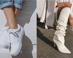 Białe buty - must have na sezon wiosna-lato 2019. Jak nosić białe buty?