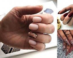 20 stylowych propozycji na manicure ze złotymi zdobieniami [GALERIA]