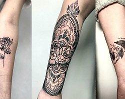 Tatuaż na przedramieniu - 20 niepowtarzalnych wzorów, które Cię urzekną
