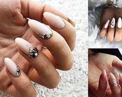 Ślubny manicure - 25 stylizacji paznokci, które robią wrażenie!