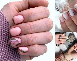 Manicure dla krótkich paznokci - galeria wiosennych perełek