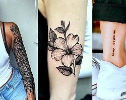Tatuaże 2019 - mandala, motyw kwiatów, napisy i wiele innych