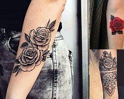 Tatuaż róża - galeria ślicznych i oryginalnych propozycji dla kobiet
