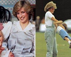 Księżna Diana w objęciach z DOROSŁYMI synami i z wnukiem na ręku?? Musicie to zobaczyć!