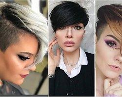 Krótkie fryzury undercut z wygolonym bokiem. Elegancie i kobiece cięcie prosto z salonu!