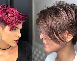 Krótkie fryzury z grzywką. 25 pomysłów na nowoczesne i ultra kobiece pixie cut!