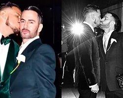 Szczęśliwy Marc Jacobs z mężem chwali się obrączką! Ach co to był za ślub!