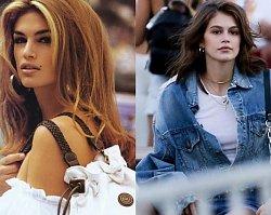 Kaia Gerber cała w jeansie została niekwestionowaną królową festiwalu Coachella! Co za uroda!