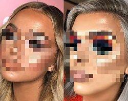 Te dziewczyny chyba naoglądały się za dużo tutoriali w sieci - Galeria nieudanych makijaży