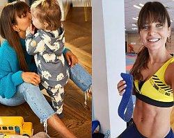 """Anna Lewandowska pokazała zdjęcie """"na chwilę przed porodem""""! Dopiero wtedy widać było brzuszek!"""