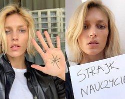 Anja Rubik wspiera strajk nauczycieli. Za to zdjęcie spadła na nią fala hejtu!