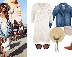 Stylizacje jak z festiwalu Coachella. Sprawdź, gdzie kupić podobne ubrania i akcesoria