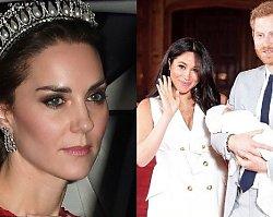 Księżna Kate i książę William poszli poznać synka Meghan Markle. Wyszli po 5 minutach. Kate płakała...