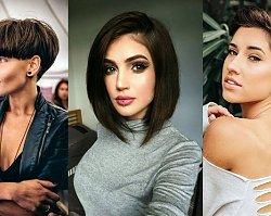Krótkie fryzury dla brunetek i szatynek - galeria najmodniejszych cięć