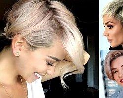 Krótkie fryzury - 18 zjawiskowych cięć dla kobiet o jasnych włosach