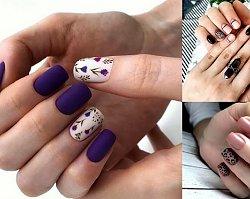 Manicure dla krótkich paznokci - galeria ślicznych i modnych zdobień