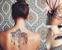 Tatuaże dla kobiet - aż 60 wzorów, jakich jeszcze nie widziałaś!