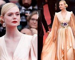 Suknia Elle Fanning w Cannes była olśniewająca, a jednak fani skrytykowali aktorkę za ten szczegół...