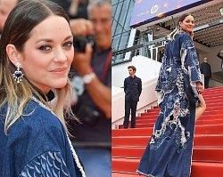 43-letnia Marion Cotillard ma ciało jak marzenie, ale za ten strój zebrała cięgi. To ma być francuska elegancja???