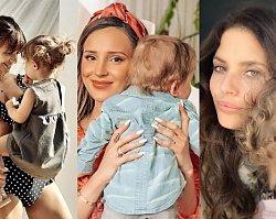 """Dzień Matki: Młode znane mamy obchodziły swoje święto! Marina """"dostała"""" od rocznego Liama wyjątkowy prezent, ale najlepszy jest wpis Lewandowskiej"""