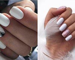 Biały manicure - modne zdobienia paznokci na wiosnę i lato 2019