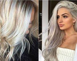 Modne kolory włosów 2019: Snow-bunny - nowy trend w koloryzacji dla blondynek!