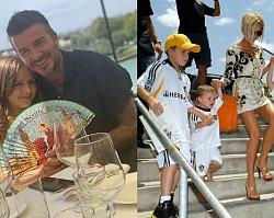 """David Beckham świętował z dziećmi Dzień Ojca. Fani: """"Z ojcem przynajmniej wyglądają na szczęśliwe, uśmiechnięte i naturalne; z Victorią - nie"""""""