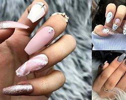 Marmurkowy manicure - 20 najgorętszych stylizacji