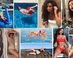 Kobieta odtwarza zdjęcia celebrytów i jest w tym GENIALNA! Instagram vs rzeczywistość
