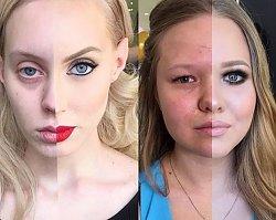 Zobaczcie, jak te kobiety wyglądały przed makijażem. Co za metamorfoza! [GALERIA] 20 nieprawdopodobnych przemian