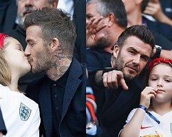 """David Beckham całuje córkę w usta! Te zdjęcia to """"przekroczenie granic""""?"""