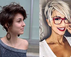 """Pixie cut - 30 odmładzających fryzur """"na chłopaka"""", które dodają charyzmy"""