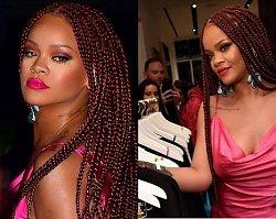"""Rihanna na swój pokaz mody przyszła w źle skrojonej sukience! """"Brzydka i dodaje kilogramów""""!"""