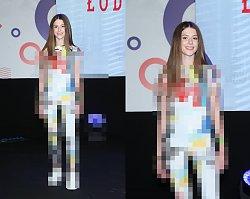 Roksana Węgiel na See Bloggers zadziwiła swoją stylizacją! Tropikalne upały i taki strój? Tym razem ukryła prawie wszystko!