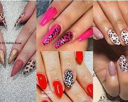 Manicure lato 2019: Panterkowy wzór na paznokciach to absolutny hit! 25 propozycji na panterkowy manicure