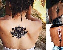 Tatuaże na plecy - 25 urzekających wzorów dla kobiet