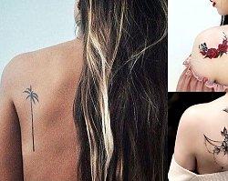 Tatuaże na łopatce - galeria najpiękniejszych wzorów dla kobiet